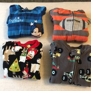 Other - 18 month boys winter pajama bundle.